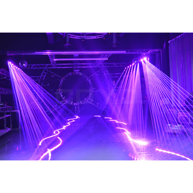4W RGB Club Laser Moving Head Light