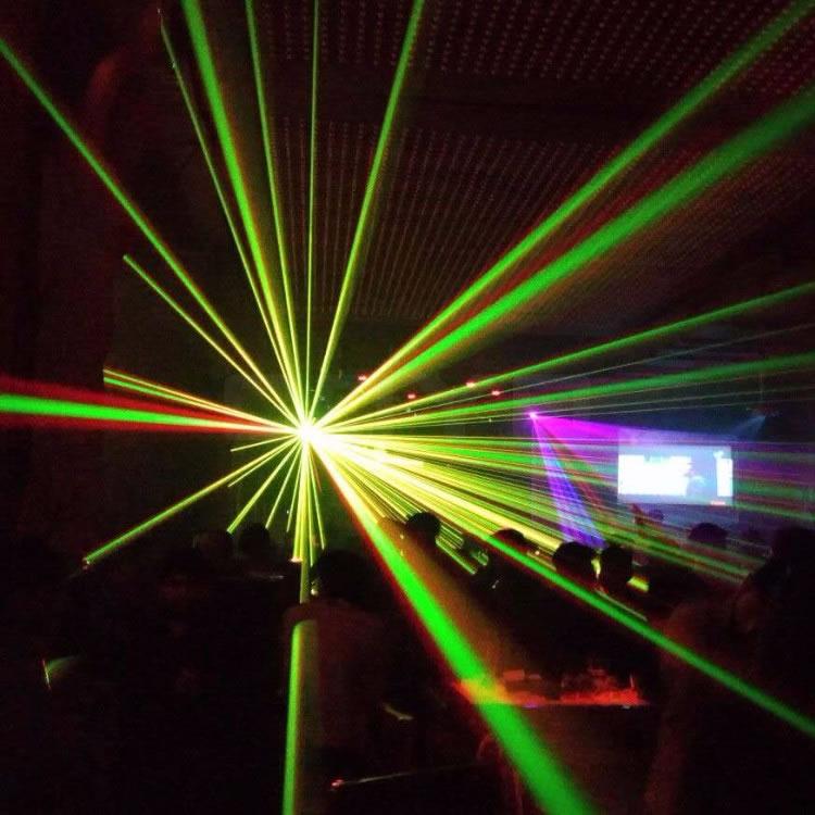 Club Laser Light 3D 2W RGB